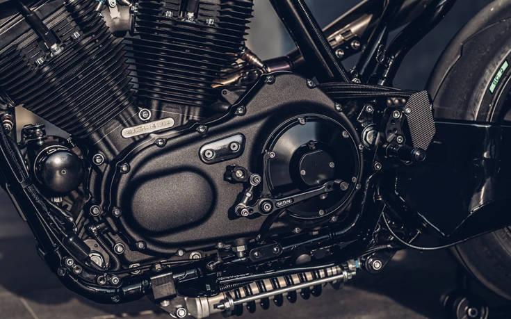 Μια αριστουργηματικά «πειραγμένη» Harley για πίστα – Newsbeast