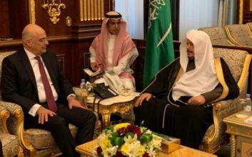 Δένδιας: Κοινή αντίληψη με τη Σαουδική Αραβία πως η συμφωνία Τουρκίας - Λιβύης δημιουργεί προβλήματα