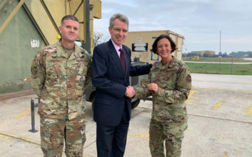 Πάιατ: Άψογη η συνεργασία μεταξύ αμερικανικών και ελληνικών Ενόπλων Δυνάμεων