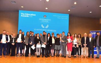 Το Mediterranean College Τιμά τους 10 «Κορυφαίους» & Επιβραβεύει τους 86 «Νικητές» της Εκπαίδευσης