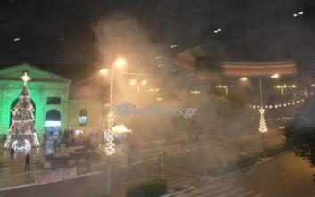 Αλέξανδρος Γρηγορόπουλος: Μικροένταση με προσαγωγές στα Χανιά μετά την πορεία
