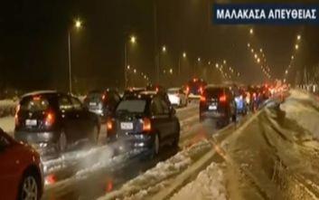 Εθνική οδός Αθηνών - Λαμίας: Άνοιξαν και τα δυο ρεύματα στη Μαλακάσα