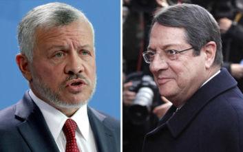 Λευκωσία: Τηλεφωνική επικοινωνία Αναστασιάδη με τον βασιλιά της Ιορδανίας
