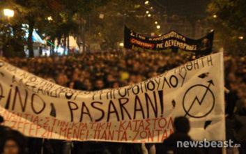 Αλέξης Γρηγορόπουλος: Σε εξέλιξη η πορεία στην Αθήνα, η εντολή στους αστυνομικούς