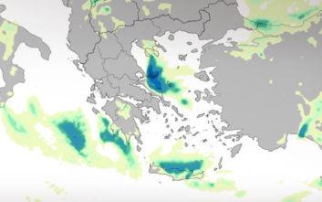 Κακοκαιρία Ζηνοβία: Η εξέλιξή της σε χάρτες, πώς θα επηρεαστεί η Αττική