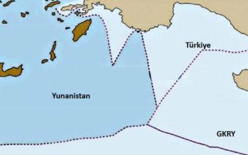 Οι χάρτες με τις τουρκικές διεκδικήσεις σε Κυπριακή ΑΟΖ και ανατολική Μεσόγειο