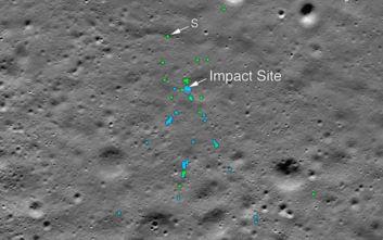 Τα συντρίμμια του ινδικού σκάφους Vikram εντόπισε η NASA στη Σελήνη