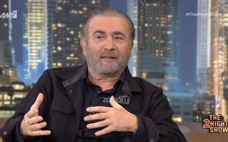Λάκης Λαζόπουλος: Η μάχη της γυναίκας του με τον καρκίνο