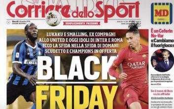Black Friday και... ρατσισμός από ιταλική αθλητική εφημερίδα