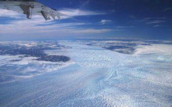 Γροιλανδία: Οι πάγοι χάνονται επτά φορές πιο γρήγορα από ότι στη δεκαετία του '90