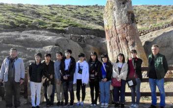 Ενθουσιασμένοι έφυγαν μαθητές από την Ιαπωνία με την επίσκεψή τους στη Λέσβο