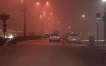 Αιθαλομίχλη «πνίγει» τα Ιωάννινα - Οδηγίες από την Περιφέρεια Ηπείρου