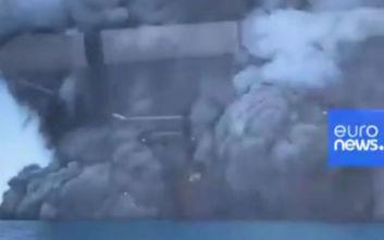 Νέα Ζηλανδία: Ένας νεκρός, 17 τραυματίες από την έκρηξη του ηφαιστείου Ουακατάνε