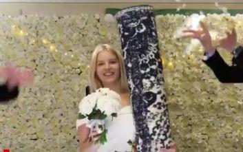 Εικοσιεξάχρονη παντρεύτηκε το χαλί της