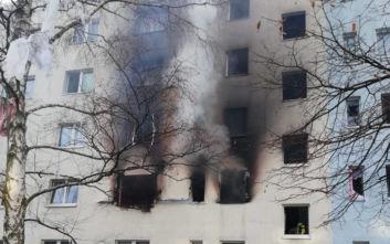 Έκρηξη σε κτίριο κατοικιών στη Γερμανία, πληροφορίες για 25 τραυματίες