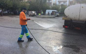 Δήμος Αθηναίων: Δράσεις καθαριότητας και αποκατάστασης στην πλατεία Κανάρη στην Κυψέλη
