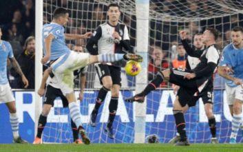 Serie A: Λάτσιο-Γιουβέντους 3-1: Σπουδαία νίκη με ανατροπή για τους «λατσιάλι»