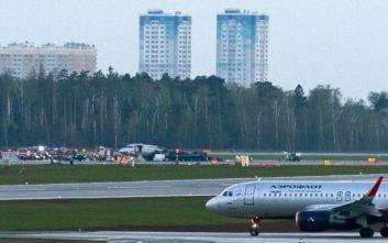 Ρωσία: Επιβατικό αεροσκάφος βγήκε από τον παγωμένο διάδρομο σε αεροδρόμιο της Μόσχας