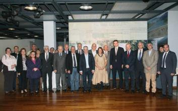 Δήμαρχοι της Αττικής επισκέφθηκαν την Έκθεση «Η μεγάλη πρόκληση»