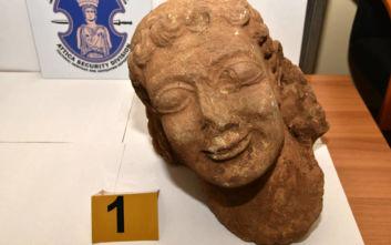 Αρχαιοκάπηλος πουλούσε κεφαλή Kούρου από τον 6ο π.Χ. αιώνα για 500.000 ευρώ