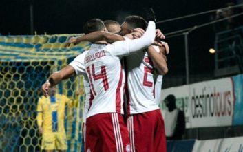 Αστέρας Τρίπολης-Ολυμπιακός 0-5: Μεγάλη μπάλα στην Τρίπολη