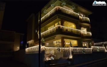 Χριστούγεννα 2019: Αυτό είναι το πιο υπέρλαμπρο σπίτι στην Κοζάνη