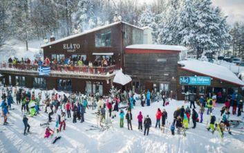 Ελατοχώρι: Ανοίγει αύριο το χιονοδρομικό κέντρο, φιλοξενεί ακόμα και Κινέζους σκιέρ