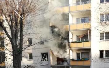 Έκρηξη σε κτίριο στη Γερμανία: Ένας νεκρός και δεκάδες τραυματίες