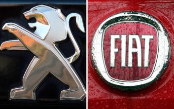Σημαντική εξέλιξη στην αυτοκινητοβιομηχανία, Peugeot και Fiat Chrysler συγχωνεύονται