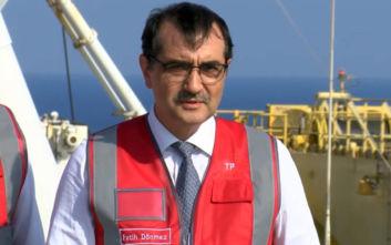 Τούρκος υπουργός Ενέργειας: Δεν θα επιτρέψουμε γεωτρήσεις στα θαλάσσια όρια με τη Λιβύη