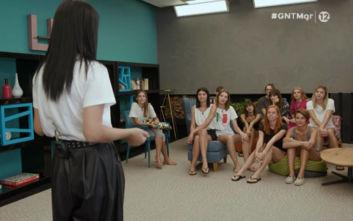 GNTM 2: Η Ζενεβιέβ σε ρόλο φωτογράφου ξάφνιασε τις παίκτριες