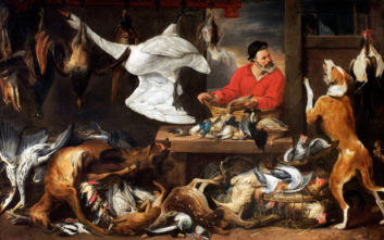 Χορτοφάγοι φοιτητές ζητούν να απομακρυνθεί πίνακας ζωγραφικής με χτυπημένα πτηνά