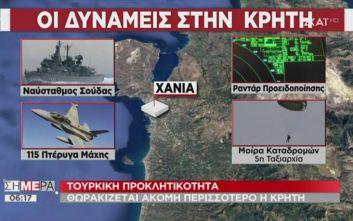 Αυτές είναι οι δυνάμεις στην Κρήτη που την καθιστούν «αστακό»