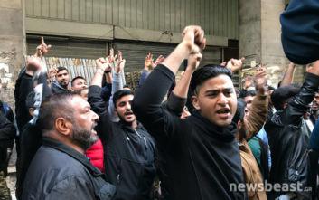 Πορεία για τον άνδρα που έβριζε τον Αλλάχ στην Ομόνοια: «Η ισλαμοφοβία είναι ρατσισμός»