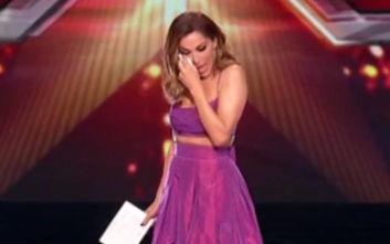 X-Factor: Δάκρυσε η Δέσποινα Βανδή στον «αέρα»