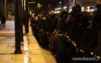 Αλέξης Γρηγορόπουλος: Η περιφρούρηση της πορείας από τους διαδηλωτές