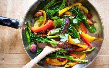 Ο κανόνας για το σωστό σοτάρισμα των λαχανικών