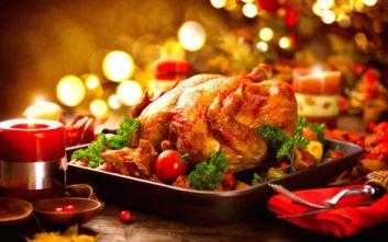 Χριστουγεννιάτικο τραπέζι: Αυξημένο το κόστος σε σχέση με πέρυσι