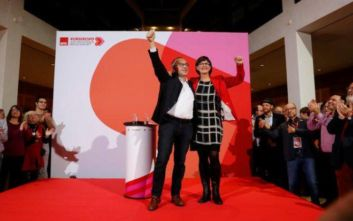 Νόρμπερτ Βάλτερ - Μπόργιανς και η Σάσκια Έσκεν η νέα ηγεσία του SPD