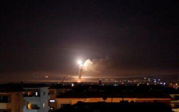 Συρία: Η αντιαεροπορική άμυνα αναχαίτισε πυραύλους προερχόμενους από το Ισραήλ