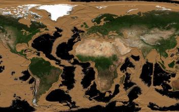 Δείτε πώς θα γίνει η Γη αν εξαφανιστεί όλο το νερό