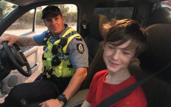 Αυστραλία: Δωδεκάχρονος πήρε το φορτηγάκι του αδελφού του για να γλιτώσει από τις φωτιές