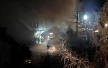 Τέσσερις νεκροί από την κατάρρευση κτιρίου σε χιονοδρομικό κέντρο στην Πολωνία
