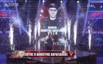 The Voice: Φινάλε με νικητή τον Δημήτρη Καραγιάννη, ανακοινώθηκε ο νέος κύκλος του μουσικού talent show