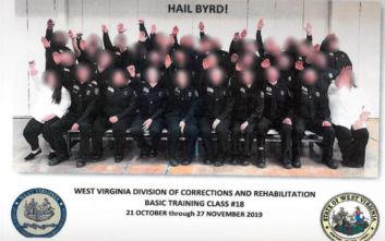 ΗΠΑ: Απολύονται εκπαιδευόμενοι φρουροί φυλακών εξαιτίας ομαδικού ναζιστικού χαιρετισμού
