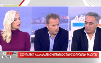 Σκουρλέτης: Σε καμία περίπτωση ο Γιώργος Παπανδρέου δεν κάνει για Πρόεδρος της Δημοκρατίας