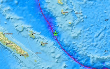 Σεισμός 5,7 Ρίχτερ στις Νήσους Λόγιαλτι στον Ειρηνικό