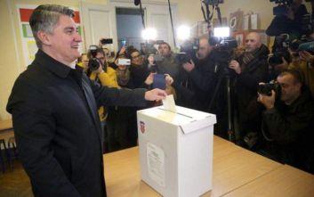 Κροατία: Τα έξιτ πολ δίνουν νικητή τον Σοσιαλδημοκράτη Ζόραν Μιλάνοβιτς