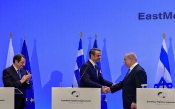 EastMed: Ο αγωγός «ασπίδα» απέναντι στις τουρκικές απειλές και τα οφέλη για την Ελλάδα