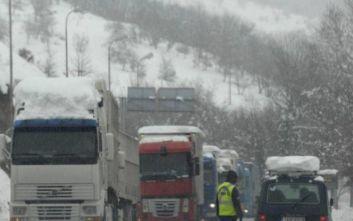 Κακοκαιρία Ηφαιστίων: Τροποποίηση των ρυθμίσεων κυκλοφορίας φορτηγών άνω του 1,5 τόνου